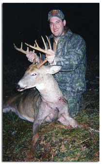 Whitetail Deer harvested with Greenwoods Outfitters